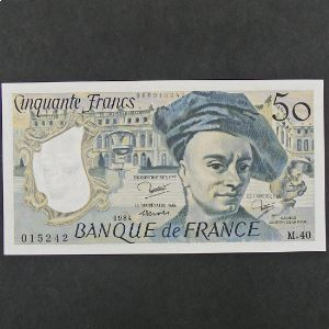 50 Francs  Quentin de la Tour 1984, SPL