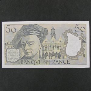 50 Francs  Quentin de la Tour 1988, SPL