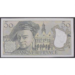 50 Francs Quentin de la Tour 1992, S.72, SUP+