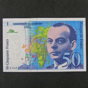 50 Francs Saint-Exupéry 1996, Neuf