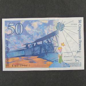 50 Francs  Saint-Exupéry 1999, Pr.Neuf