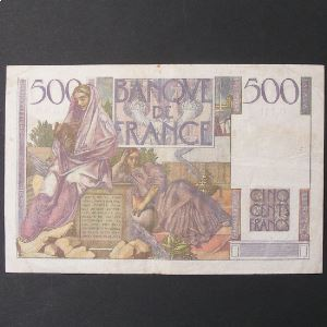 500 Francs Chateaubriand 4-9-1952, TTB