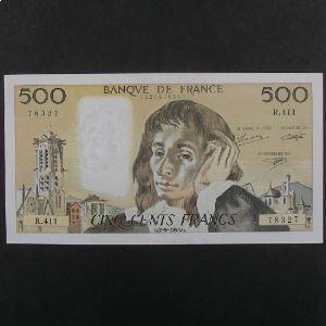 500 Francs  Pascal 2.9.1993, TTB+