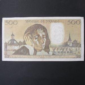 500 Francs Pascal 4.11.1976, TB+