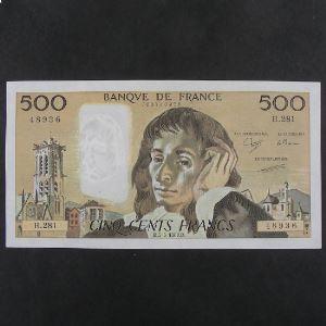 500 Francs Pascal 5.5.1988, SUP/SUP+