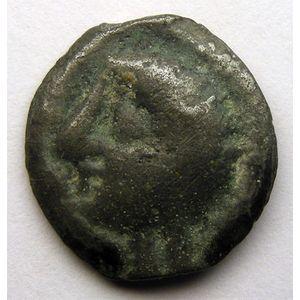 Photo numismatique Monnaies Gauloises Haute et moyenne seine Potin à la tête chauve