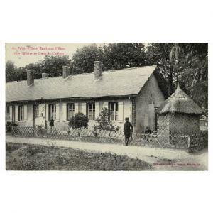 51 - MOURMELON - Palais d'été et Résidence d'Hiver d'un Officier au Camp de Châlons