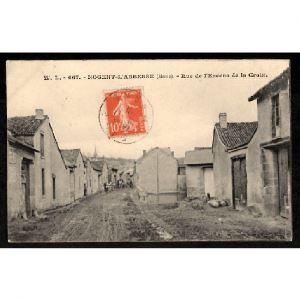 51 - NOGENT L'ABBESSE (Marne) - Rue de l'Encens de la Croix
