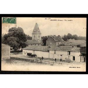 51 - ORCONTE (Marne) - Vue Générale
