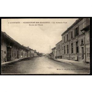 51 - PASSAVANT EN ARGONNE - La Grande Rue - Ecole de Filles