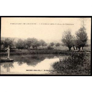 51 - PASSAVANT EN ARGONNE (Marne)  - L'Abreuvoir et les Collines de l'Argonne