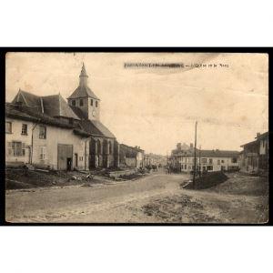 51 - PASSAVANT EN ARGONNE (Marne)  - L'Eglise et la Place