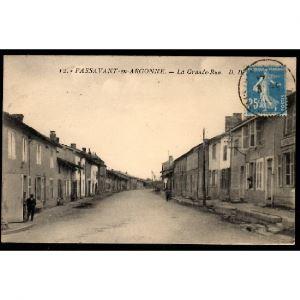 51 - PASSAVANT EN ARGONNE (Marne)  - La Grande Rue