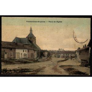 51 - PASSAVANT EN ARGONNE (Marne)  - Place de l'Eglise
