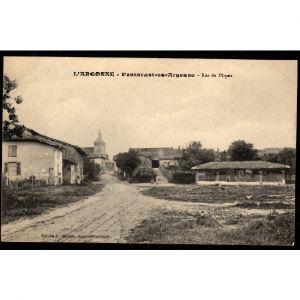 51 - PASSAVANT en ARGONNE (Marne) - Rue du Pâquis