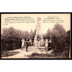 51 - PASSAVANT EN ARGONNE - Monument des Mobiles