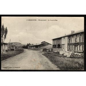 51 - PASSAVANT (Marne) - L'Argonne - La Grande Rue