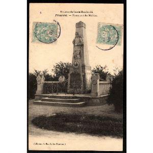 51 - PASSAVANT  (Marne)  - Monument des Mobiles - Environs de Sainte Ménéhould
