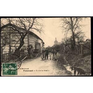 51 - PASSAVANT (Marne) - Rue de la Fossette