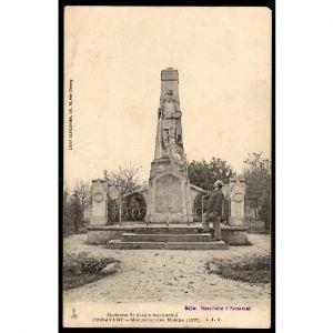 51 - PASSAVANT - Monument des Mobiles (1870) - Environs de Ste Ménéhould