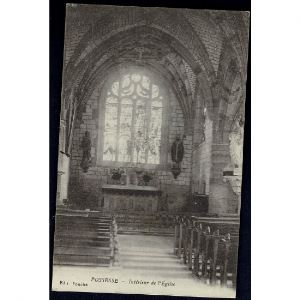 51 - POSSESSE (Marne) - Intérieur de l'Eglise