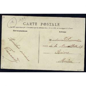51 - POUILLON (Marne) - Le Parc - Chalet de M. Victor Lambert