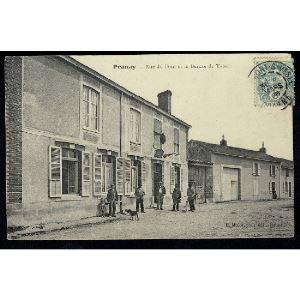 51 - PRUNAY (Marne)  - Rue du Four et le Bureau de Tabac