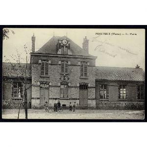 51 - PUISIEULX (Marne) - La Mairie