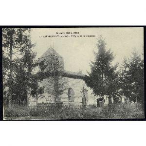 51 - RAPSECOURT (Marne) - L'Eglise et le Cimetière