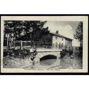 51 - RAPSECOURT (Marne) - Pont de l'Yèvre