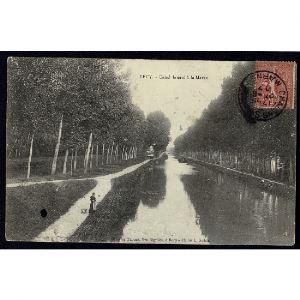 51 - RECY (Marne) - Canal latéral à la Marne