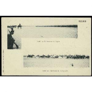 51 - REIMS (Marne) - Défilé de l'Infanterie de Ligne - Défilé de l'Artillerie de Campagne