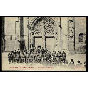 51 - REIMS (Marne) - Inventaire des Eglises à Reims - A Saint Rémi (2 Mars 1906)