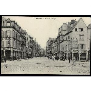 51 - REIMS (Marne) - Rue de l'Etape - Comptoir de la Commète - Pharmacie Drouet d'Erlon