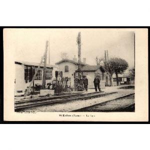 51 - SAINT EULIEN (Marne) La Gare