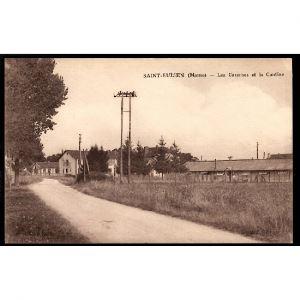 51 - SAINT EULIEN (Marne) Les Casernes et la Cantine