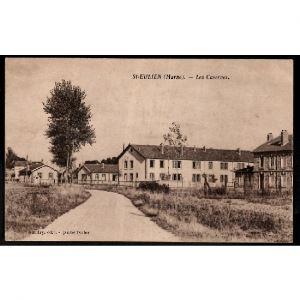 51 - SAINT EULIEN (Marne) Les Casernes