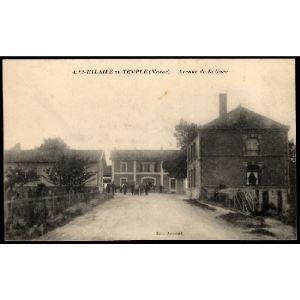 51 - SAINT HILAIRE AU TEMPLE (Marne) - Avenue de la Gare