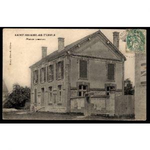 51 - SAINT HILAIRE AU TEMPLE (Marne) - Maison Commune