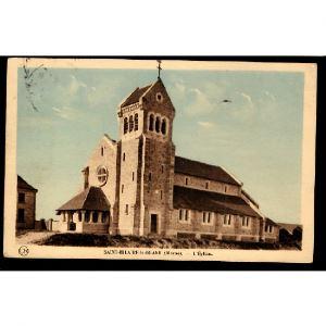 51 - SAINT HILAIRE LE GRAND (Marne)  - L'Eglise