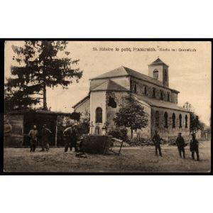 51 - SAINT HILAIRE LE PETIT (Marne) - Frankreich. Kirche mit Granatloch