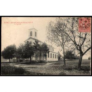 51 - SAINT HILAIRE LE PETIT (Marne) - L'Eglise