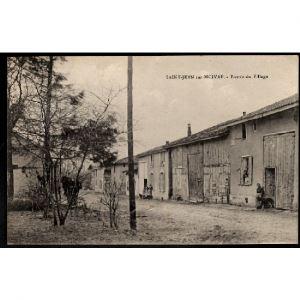 51 - SAINT JEAN SUR MOIVRE (Marne) - Entrée du Village