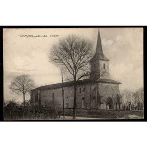 51 - SAINT JEAN SUR MOIVRE (Marne) - L'Eglise