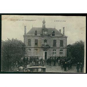 51 - SAINT REMY EN BOUZEMONT (Marne) - L'Hôtel de Ville