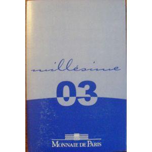 Photo numismatique Monnaies Euros France BE 2003
