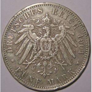 Photo numismatique Monnaies Etrang�res Allemagne Oldenbourg