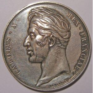 Photo numismatique Monnaies Jetons et médailles Médailles de Charles X