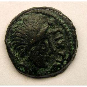 Photo numismatique Monnaies Gauloises Carnutes Bronze PIXTILOS au griffon