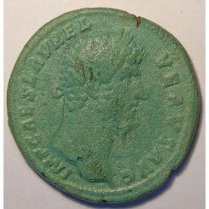 Photo numismatique Monnaies Empire Romain LUCIUS VERUS (161-169) Sesterce